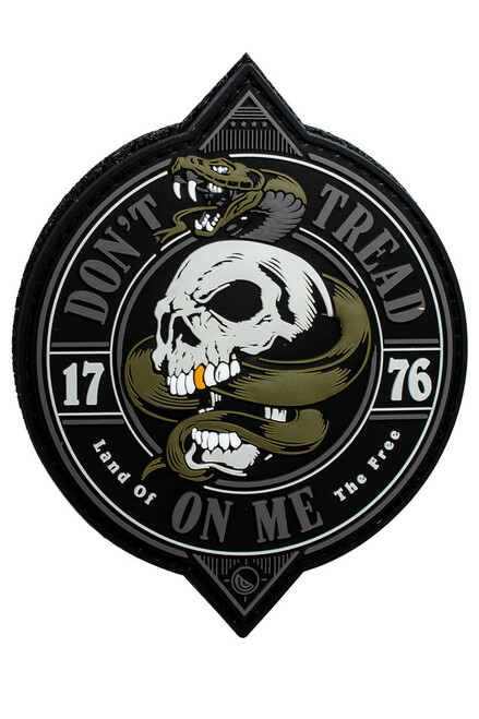 1776 Don't Tread On Me Patch