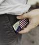 Minimalist Wallet - Blue Line American Flag 2
