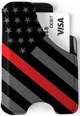 Minimalist Wallet - Redline American Flag