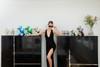 "Interior Illusions Plus Gold Mini Balloon Dog Bank - 7.5"" tall"
