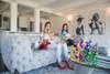 "Interior Illusions Plus Kelly Green Mini Balloon Dog Bank 7.5"" tall"