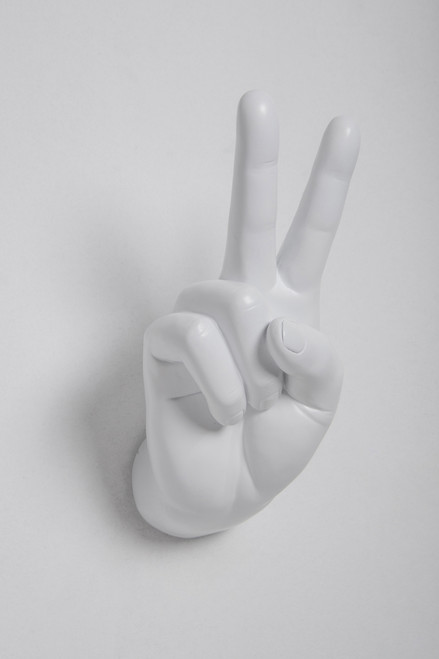 Interior Illusions Peace Sign Wall Hook
