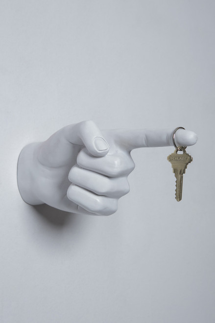 Interior Illusions One Finger Pointing Wall Hook