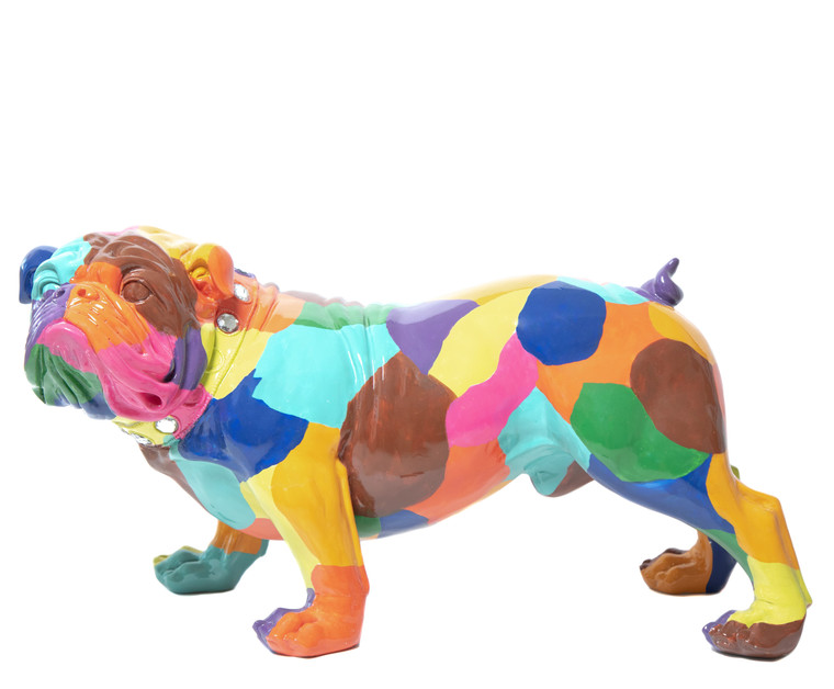 "Interior Illusions Plus Artist Bulldog - 30"" long"