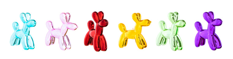 "Interior Illusions Plus Holiday Balloon Dog  - 3.25"" tall  (6 Pack)"