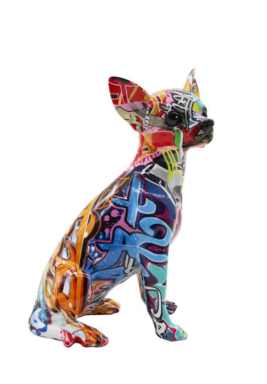 "Interior Illusions Plus Street Art Chihuahua 10.25"" tall"