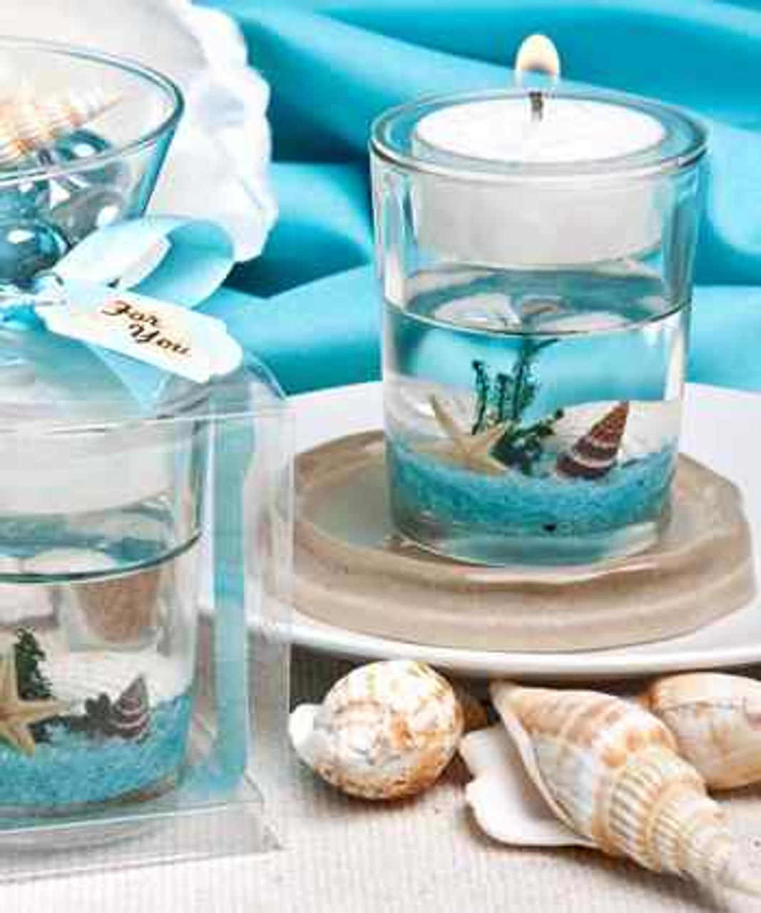 Stunning Beach Themed Candle Favor ~ Party Favors /& Gifts