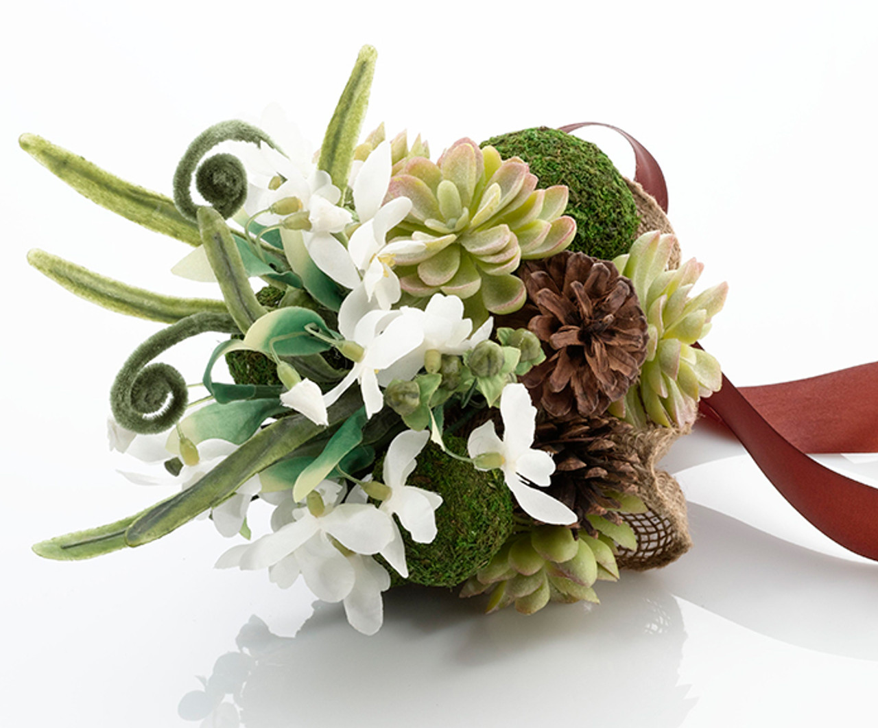 Stunning Moss And Succulent Bouquet For Bride Or Bridesmaids Unique Gifts By Lucy