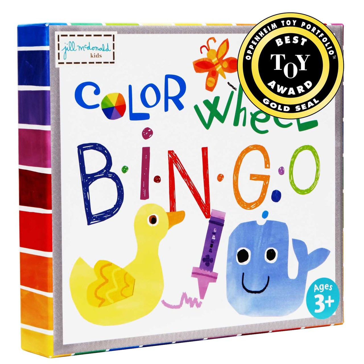 Award Winning Puzzle Bingo Color Wheel For Ages 3 And Up Unique