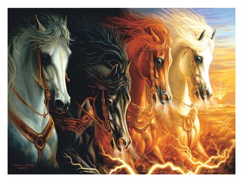 PUZZLE FOUR HORSES OF THE APOCALYPSE 1500PCS