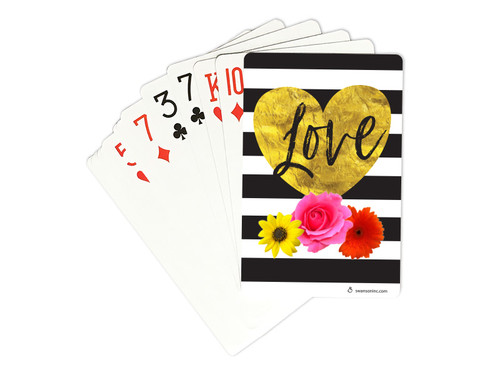 PLAYING CARDS CONTEMPORARY LOVE 3PK