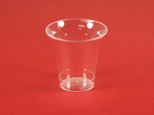 COMMUNION CUPS CLEAR SMALL 1 1/4in