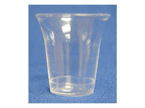 COMMUNION CUPS CLEAR FULL SIZE 1 3/8in