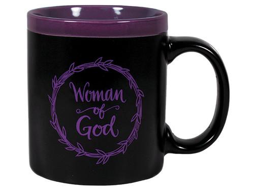 MUG WOMAN OF GOD 11OZ