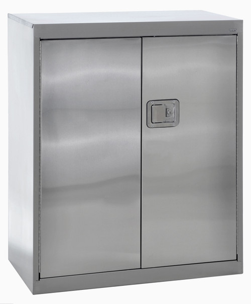 Counter Height Cabinet  w/paddle lock