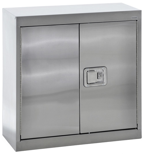 Wall Cabinet w/paddle lock