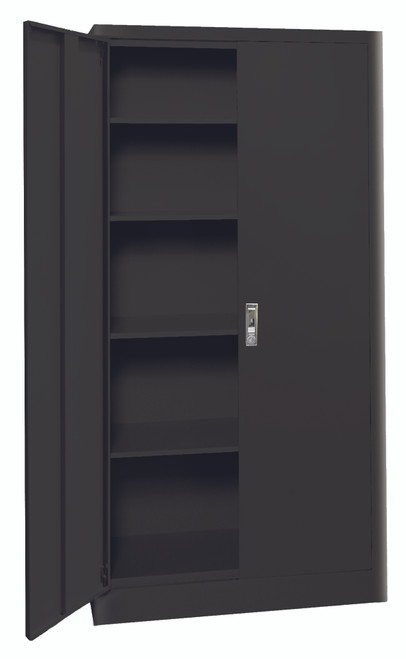Radius Edge Cabinet w/push button lock