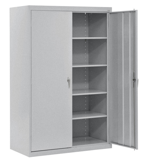 Storage Cabinet w/four shelves and swing handle + dummy handle