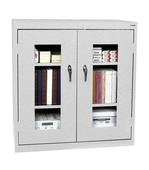 Clearview counter Height Cabinet w/two shelves and bottom shelf
