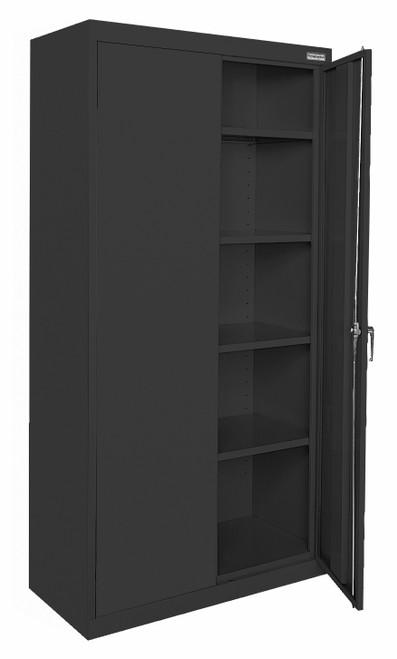 Storage Cabinet w/four shelves and bottom shelf