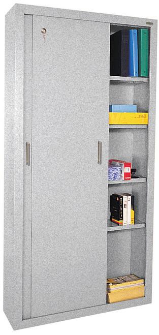 Four shelves and bottom shelf