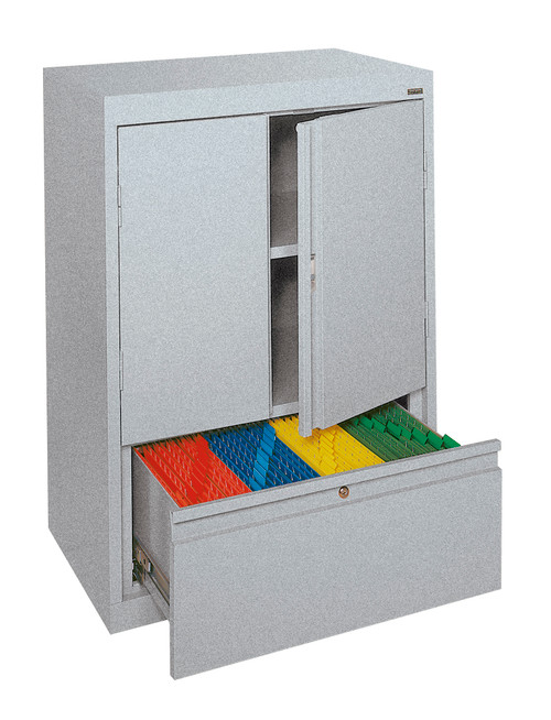 Storage Cabinet w/File Drawer