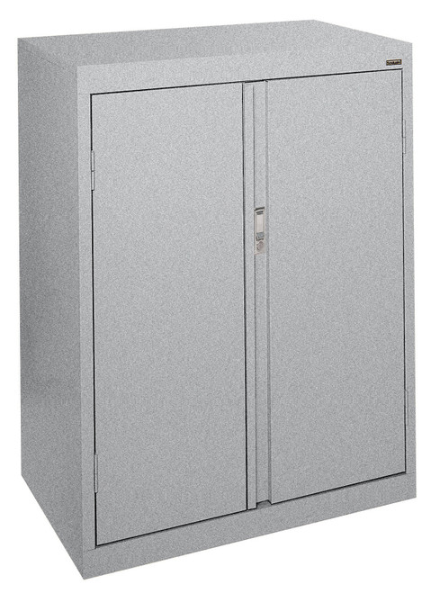 Double Door Storage Cabinet w/fixed shelves