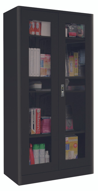 Radius Edge Clearview Cabinet w/push button lock