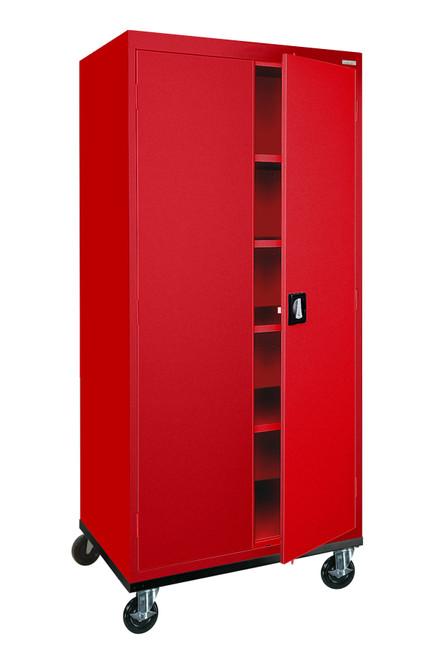 Transport Mobile Storage w/4 adj shelves