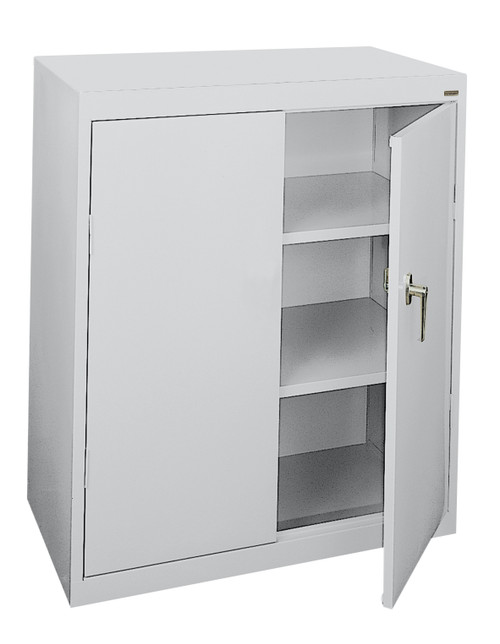Counter Height Cabinet  w/fixed shelves