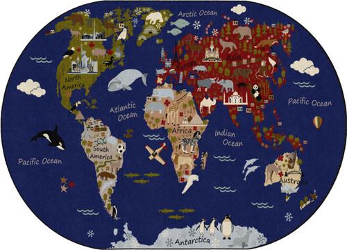 WORLD TRAVELER EARTH TONE