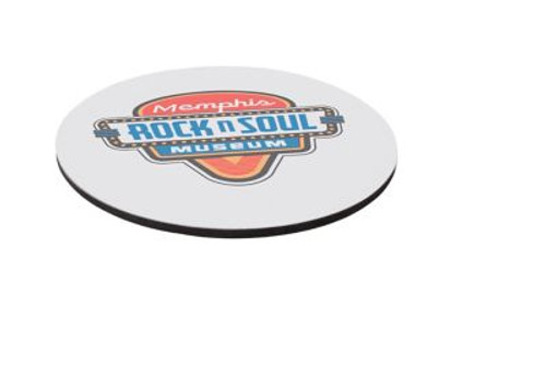 """8"""" Rd 1/8"""" Thick Full Color Soft Mouse Pad"""