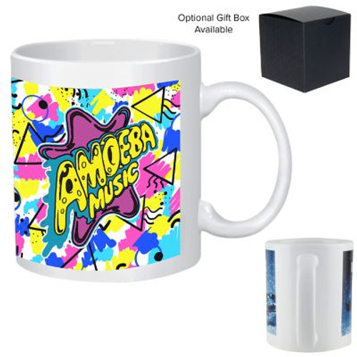 11 Oz Full Color Stoneware Mug