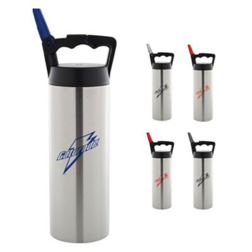 18 Oz Zeus Double Wall Stainless Water Bottle