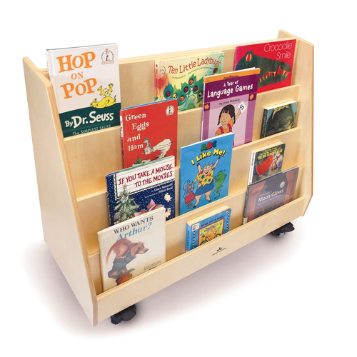 Deluxe Two Sided Mobile Book Display