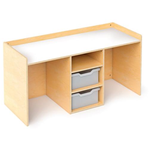 Stem Activity Desk With Trays