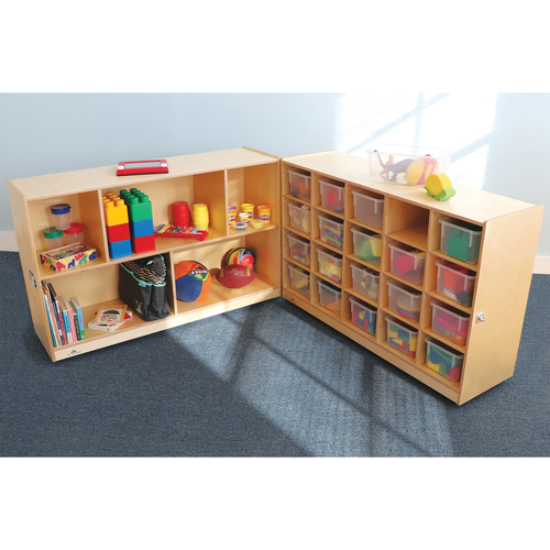 20 Tray Fold And Roll Storage Cabinet