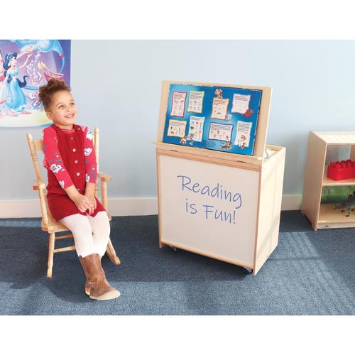 Big-Book Display With Write & Wipe