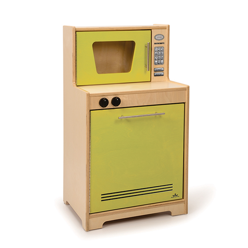 Contemporary Microwave And Dishwasher