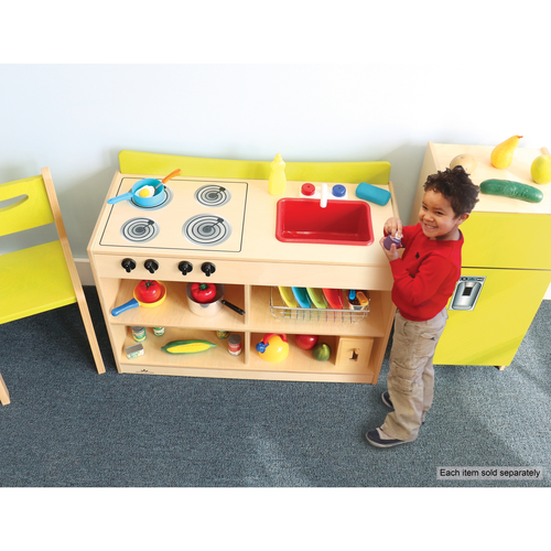 Preschool Contemporary Sink And Stove