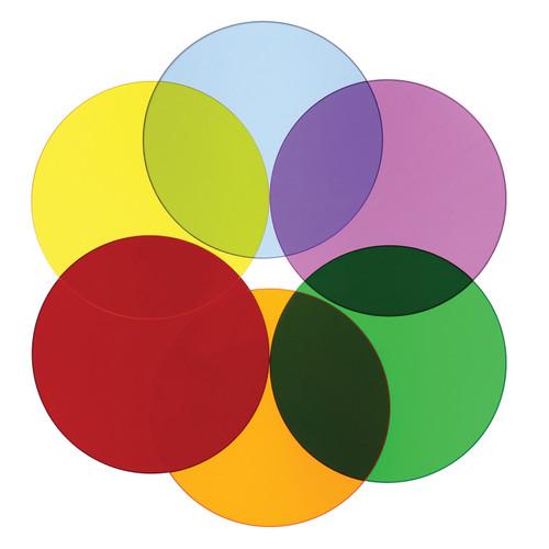 Color Wheel Circles - Set Of Six