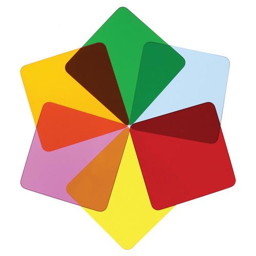 Color Wheel Squares - Set Of Six