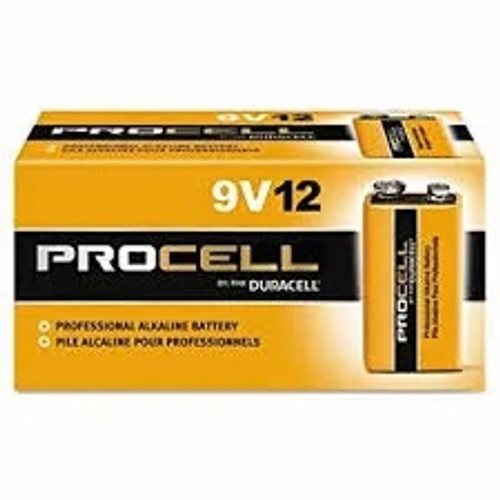 Duracell ProCell 9V Size Alkaline Battery Case(72)