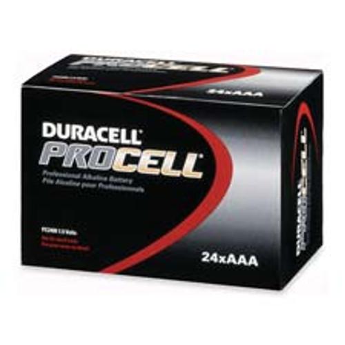 Duracell ProCell AAA Size Alkaline Battery Case(144)
