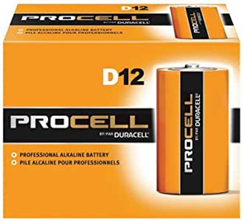 Duracell ProCell D Size Alkaline Battery Case(72)