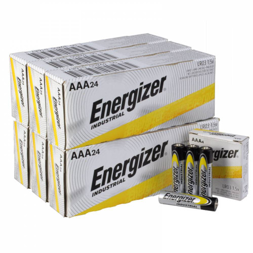 Energizer Industrial AAA Alkaline Battery Case(144)