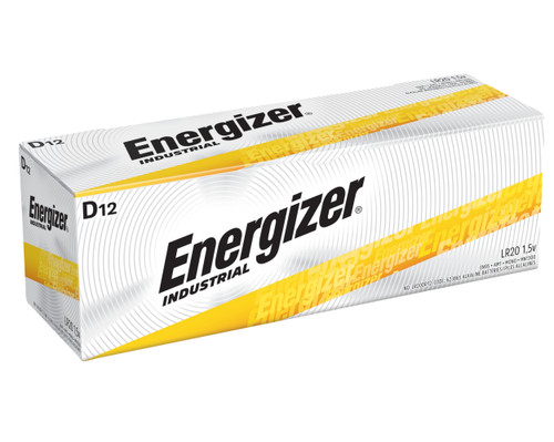 Energizer Industrial D Alkaline Battery Case(72)