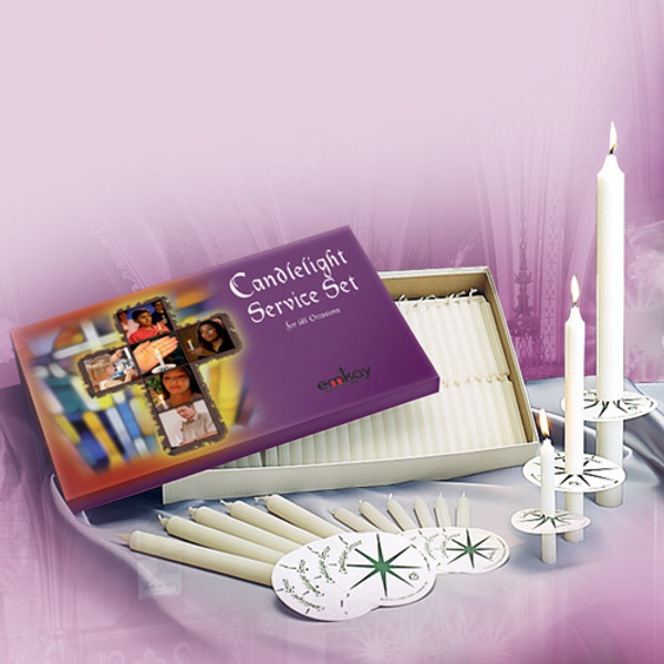 #2 Candlelight Set w/250 Candles