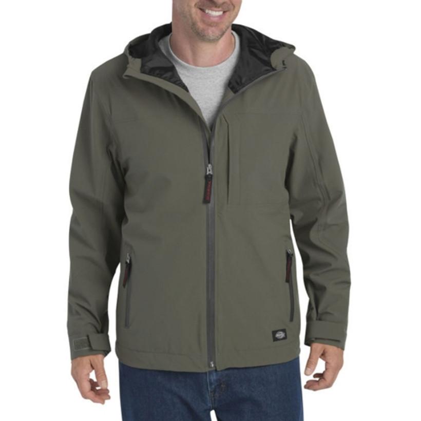 Dickies Waterproof Breathable Hooded Jacket - Green