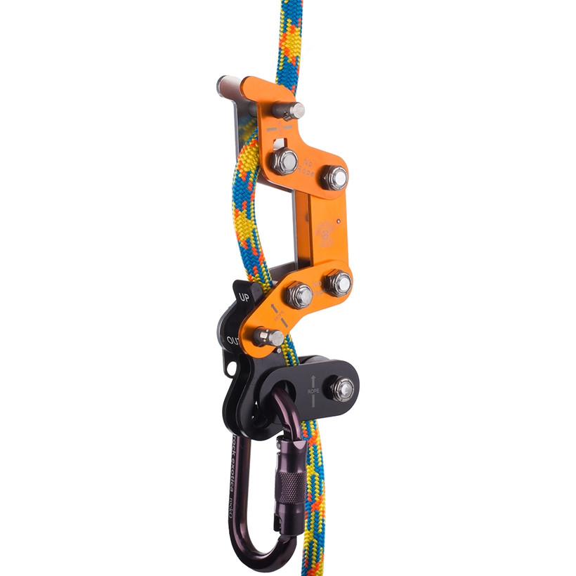 Singing Tree Rope Runner - Orange and Silver